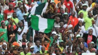 Nigerian supportes