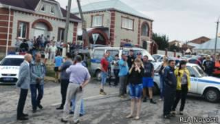 Волнения в Пугачеве после убийства Руслана Маржанова