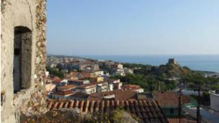Vista de Scalea, Italia