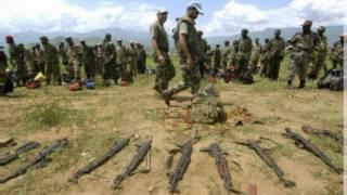 Soldados de Ruanda