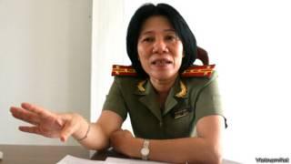 Bà Bùi Tuyết Minh khi còn cấp tá