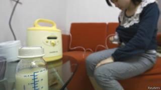 चीन में मानव दूध के इस्तेमाल का चलन
