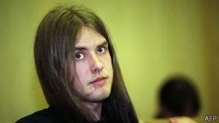 Kristian Vikernes en una foto de 1994