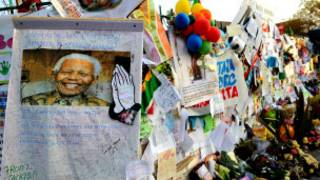 تمنيات بشفاء مانديلا