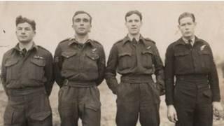 अप्रैल 1945 में इस दल ने  भरी आखिरी उड़ान