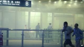 Đánh bom phản đối ở phi trường TQ