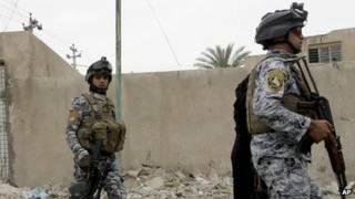 Lực lượng an ninh Iraq canh giữ nhà tù