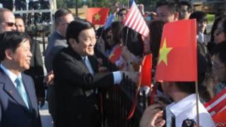 Chủ tịch nước Việt Nam Trương Tấn Sang tại Washington