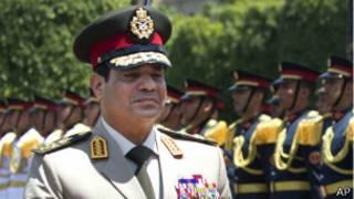 General Abdul Fattah al Sisi. Imagen de archivo