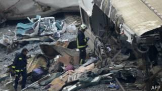 Accidente tren en España