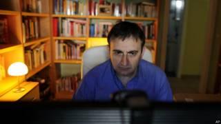 Estudiante en línea