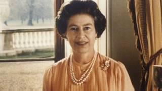 80年代的英国女王