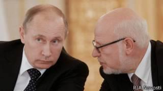 Михаил Федотов и Владимир Путин
