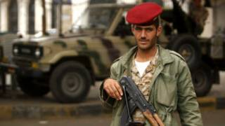 यमन की राजधानी सना में सुरक्षा कड़ी