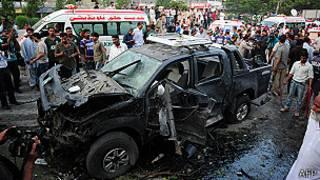 Bomba en Karachi