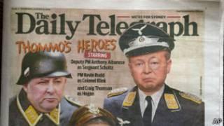 डेली टेलीग्राफ में छपी विवादास्पद तस्वीर