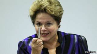 Dilma Rousseff   Crédito: Reuters