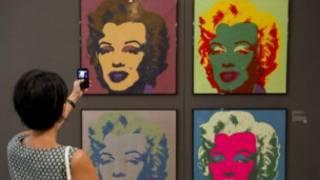 अमरीकी कलाकार एंडी वॉरहोल की कलाकृति