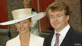 Нидерландский принц Йохан Фризо с супругой