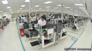 Fábrica da Samsung em Manaus (Ag de Comunicação do Governo do Amazonas)