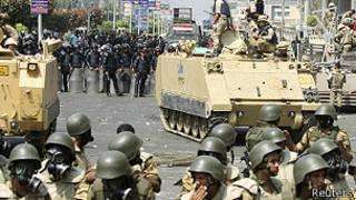 Tanques en Egipto