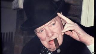 Бывший премьер-министр Британии Уинстон Черчилль
