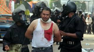 Arrestos en Egipto