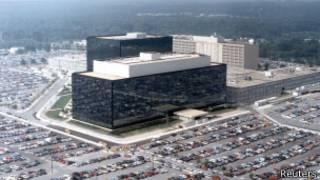 Edificio de la Agencia de Seguridad Estadounidense