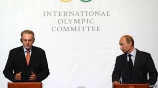 Жаг Рогге и Владимир Путин