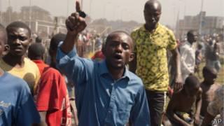Plusieurs centaines de personnes ont manifesté samedi à Goma contre les violences qui ont fait sept morts et des dizaines de blessés depuis mercredi.