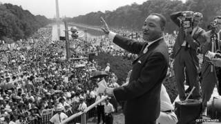 Discurso histórico de Martin Luther King | Foto: Getty Images