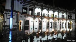 Inundación en Veracruz
