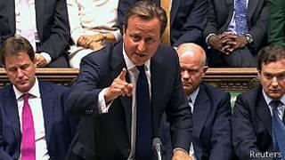 David Cameron mu nama nshingamateka
