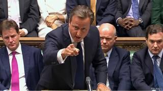 Thủ tướng David Cameron