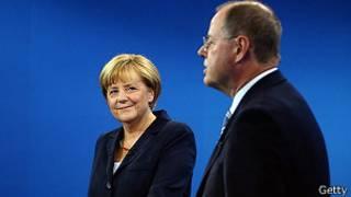 Debate entre candidatos electorales en Alemania