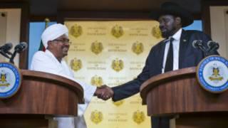 Shugaba El-Bashir da takwaransa Salva Kiir