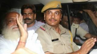 पुलिस हिरासत में आसाराम