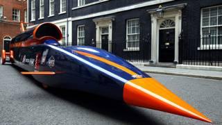 तेज़ रफ़्तार कार, दुनिया की सबसे तेज़ कार, ब्लडहाउंड कार, रेसिंग कार
