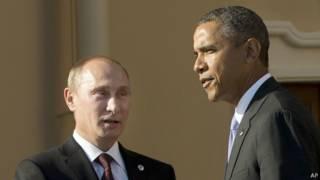 Obama e Putin na cúpula do G20 (AP)