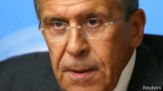 Sergei Lavrov, ministro de Relaciones Exteriores ruso