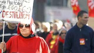 Protestas contra la reforma de las pensiones en Francia