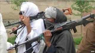 مسلحون في طالبان