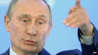 O presidente da Rússia, Vladimir Putin (AFP)
