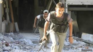 Wanajeshi wa serikali mjini Damascus