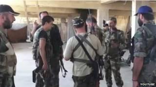 Combatentes na Síria. Foto: YouTube