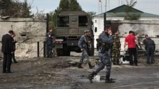 Взрыв в Чечне