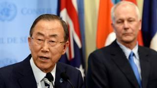 Sekjen Ban Ki-moon