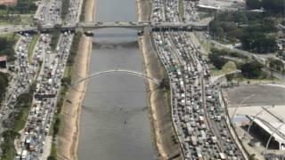 Congestionamento na Marginal Tietê, em São Paulo (Reuters)