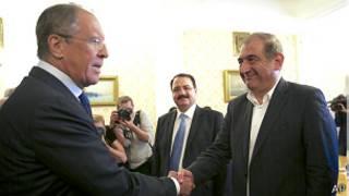 جمیل و لاوروف وزیر خارجه روسیه