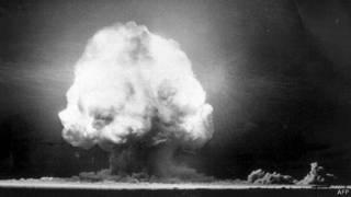قنبلة ذرية